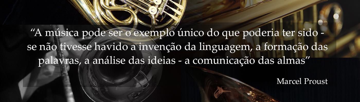 Ensino especializado de Instrumento Trompete, Trombone, Trompa, Tuba